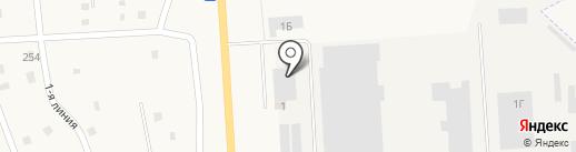 Керамзит, ЗАО на карте Никольского