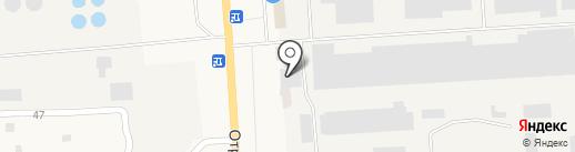 Магазин лакокрасочных материалов на карте Никольского