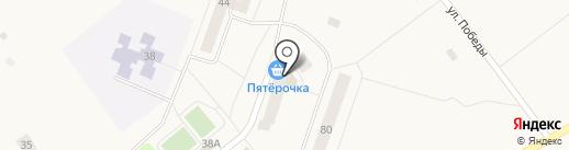 Очаг на карте Ульяновки