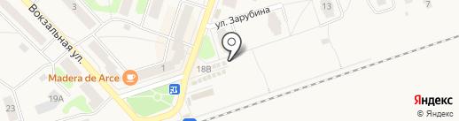 Продовольственный магазин на карте Отрадного