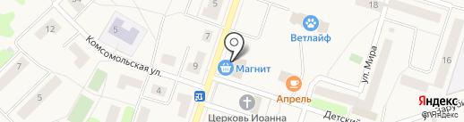 Магнит на карте Отрадного