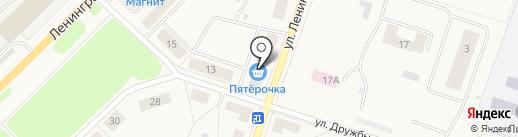 Пятёрочка на карте Отрадного
