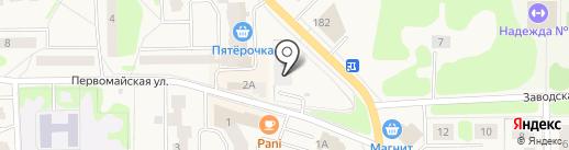 АКВАТОРИЯ на карте Никольского