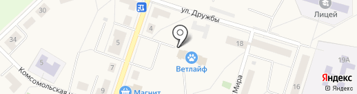 Восток на карте Отрадного
