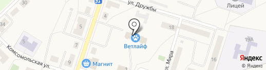 Мастер на карте Отрадного