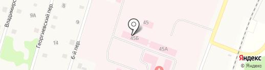 Ульяновская областная психиатрическая больница на карте Ульяновки