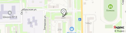 Лакомка на карте Никольского