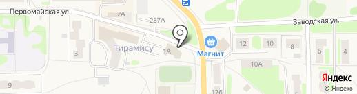 Светлячок на карте Никольского