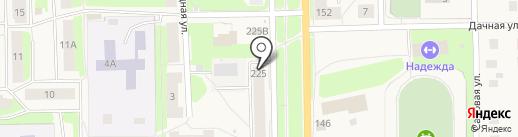 Аптека №71 на карте Никольского
