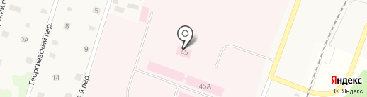Ульяновская психиатрическая больница на карте Ульяновки