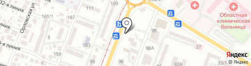 Элика на карте Одессы