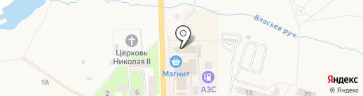 Невод на карте Никольского
