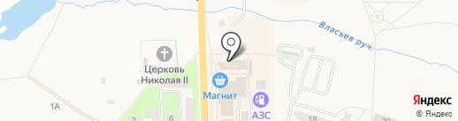 Мандарин на карте Никольского