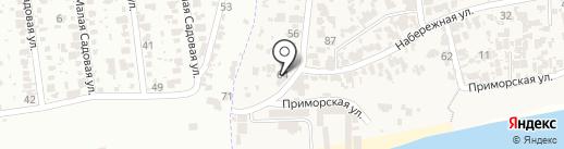 Villa albizia на карте Крыжановки