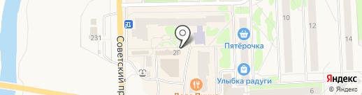 Евросвязь на карте Никольского