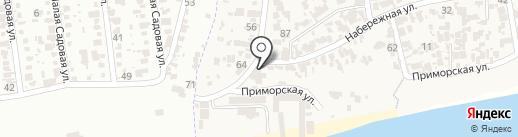 Чайка на карте Крыжановки