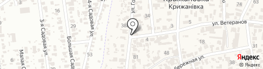 Продуктовый магазин на карте Крыжановки