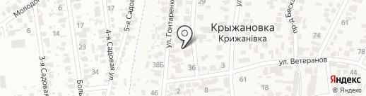 Мини-отель на карте Крыжановки