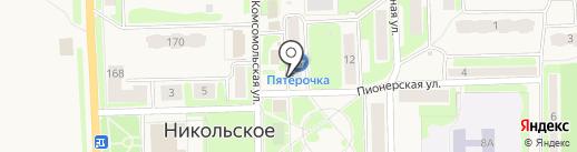 Женевьева на карте Никольского