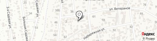 Спарта на карте Крыжановки