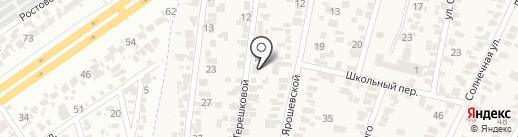 Библиотека на карте Крыжановки