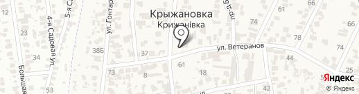 Ощадбанк, ПАТ на карте Крыжановки