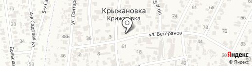 Администрация Крыжановского сельсовета на карте Крыжановки