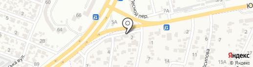 Вишенка на карте Крыжановки