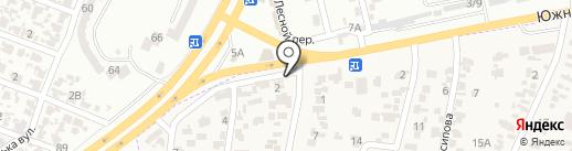 Первая кровельная на карте Крыжановки