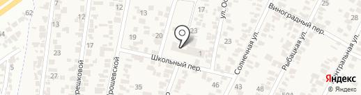 Общеобразовательная школа-лицей I-III ступеней на карте Крыжановки