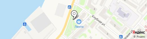 Цветочный магазин на карте Отрадного