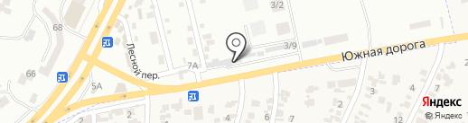 Кованка на карте Крыжановки
