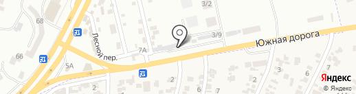 Новосел на карте Крыжановки