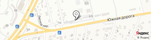 Производственно-строительная фирма на карте Крыжановки