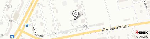 Забавушка на карте Крыжановки