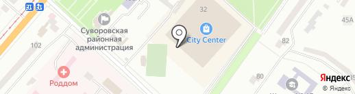 New York Street Pizza на карте Одессы