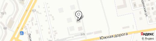 Золотая Эра на карте Крыжановки