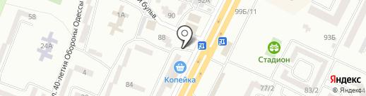 Ферма на карте Одессы