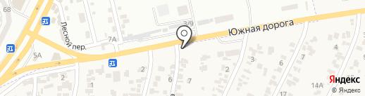 AutoColors на карте Крыжановки