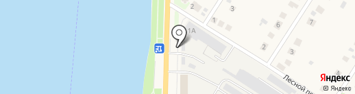Магазин разливного пива на карте Отрадного