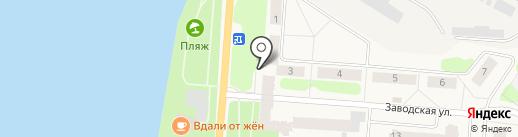 Магазин товаров для дома на карте Отрадного