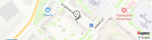 Яблонька на карте Отрадного