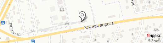 Зеленый свет на карте Крыжановки