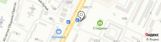 Вимакс Групп на карте Одессы