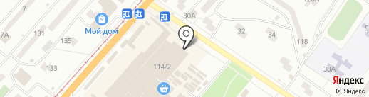 Точилка на карте Одессы