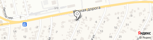 Прибой на карте Крыжановки
