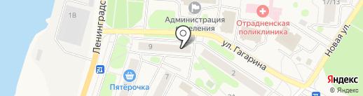 ProОтрадное на карте Отрадного