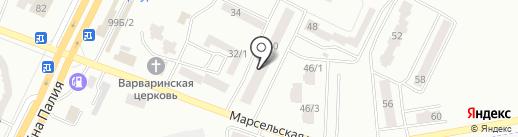 Дон Батон на карте Одессы