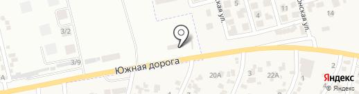 Каретный двор на карте Крыжановки