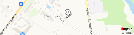 Автомойка на карте Ульяновки